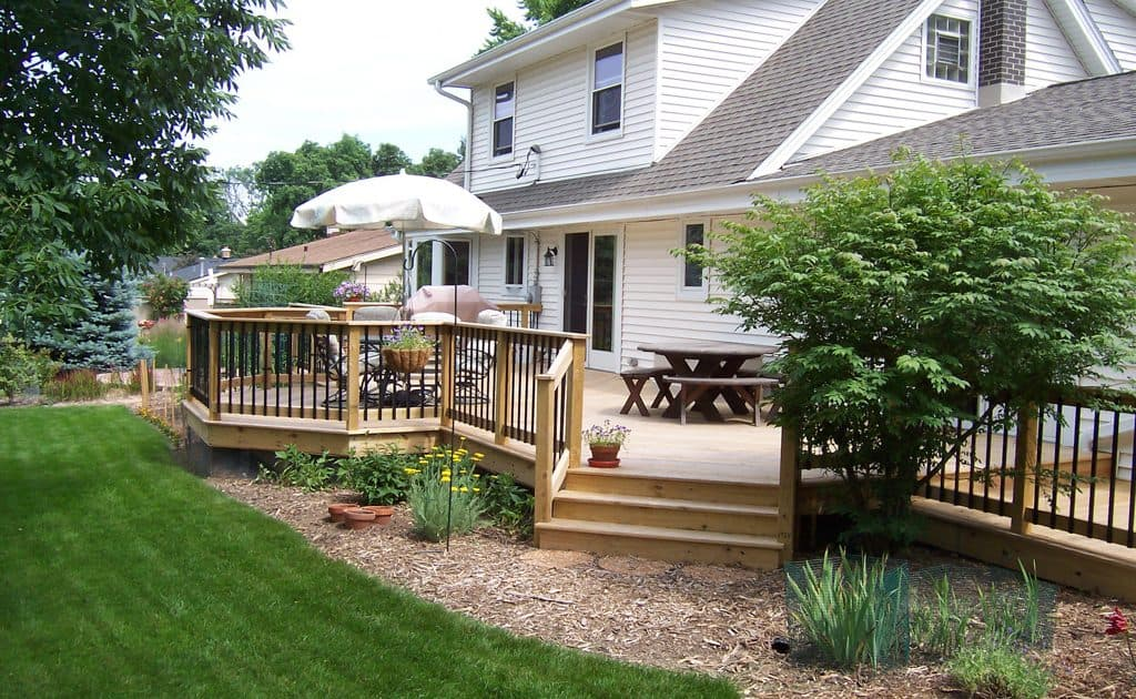 home remodel deck addition