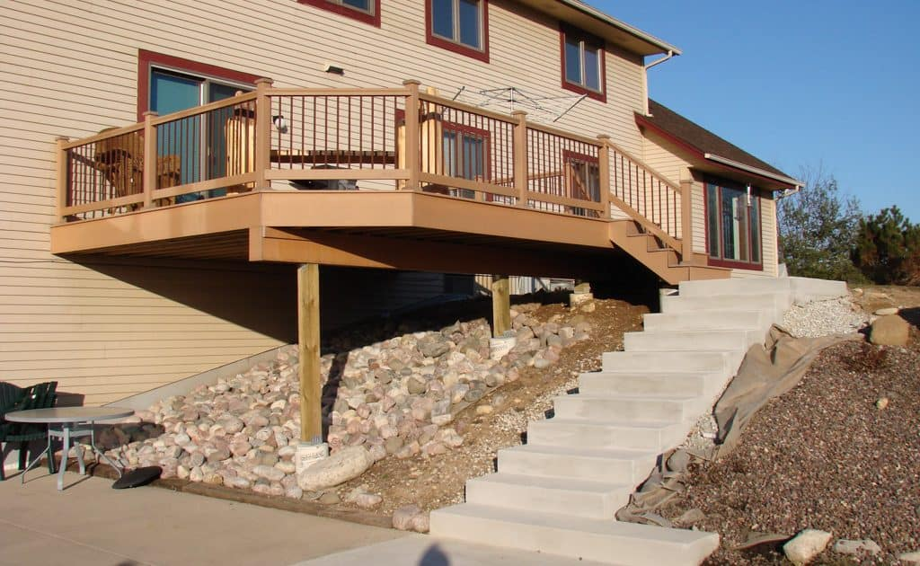 home remodeling deck addition