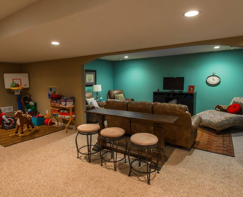 basement remodeling waukesha