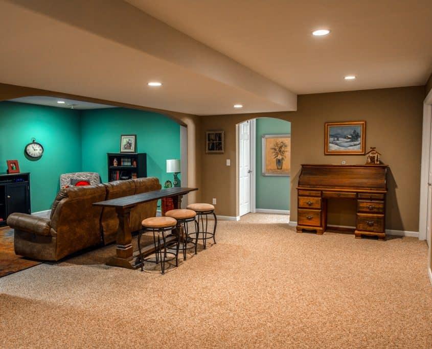 delafield basement remodeling
