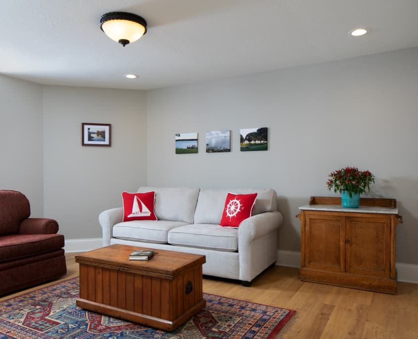 basement remodel hartland