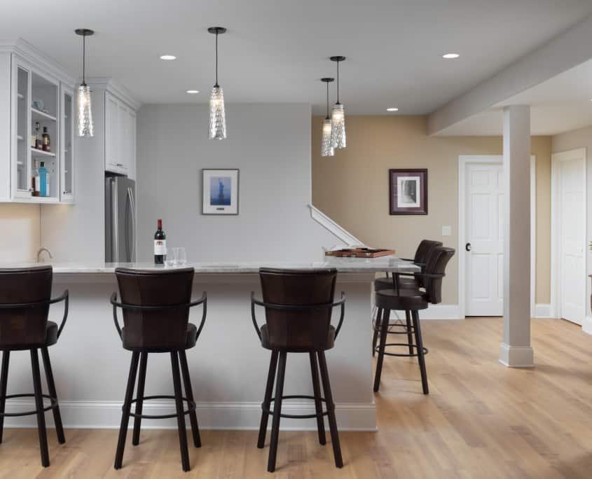 hartand basement remodel